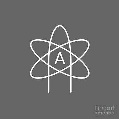 Atheist Atom #4 Original by Frederick Holiday