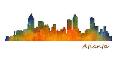Atlanta City Skyline Hq V1 Original by HQ Photo