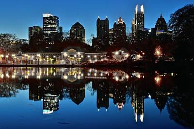 Atlanta Reflects Print by Frozen in Time Fine Art Photography