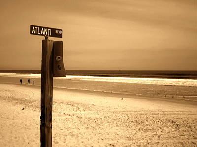 Atlantic Beach Print by Utopia Concepts