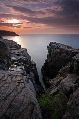 Acadia National Park Photograph - Atlantic Genesis by Juergen Roth