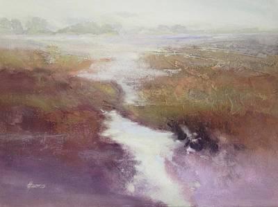 Painting - Atlanticsaltmarsh by Helen Harris