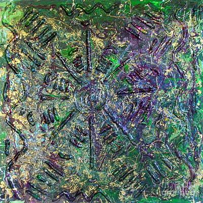 Atlantis Painting - Atlantis by Dawn Hough Sebaugh