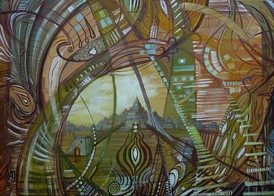 Atlantis Painting - Atlantis Dreams by Jozsef Horvath