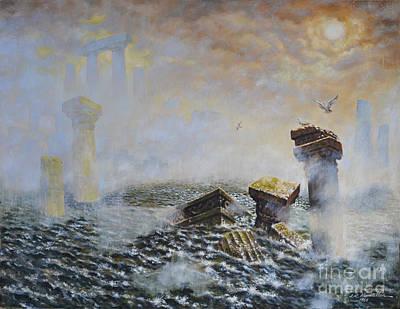 Atlantis Painting - Atlantis by James Robert MacMillan