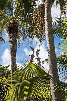 Atlantis Paradise Island - Nassau Bahamas Print by Jon Berghoff