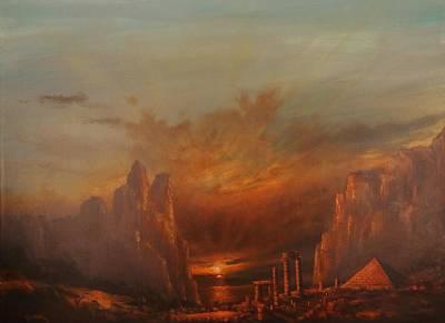 Atlantis Print by Tom Shropshire