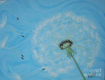 Attack On The Garden Print by Kerri Ertman