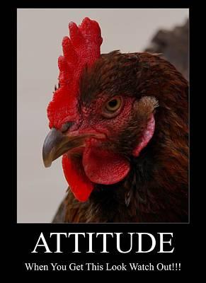 Attitude Photograph - Attitude by Ernie Echols
