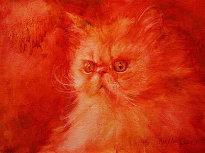 Maryann Painting - Attitude by MaryAnn Cleary