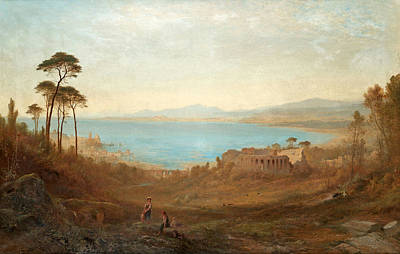 Italian Landscape Painting - Attributed To Italian Landscape by Alfred Walter