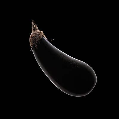 Eggplant Photograph - Aubergine Still Life by Johan Swanepoel