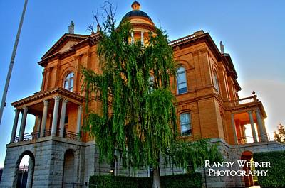 Old Auburn Courthouse Photograph - Auburn Courthouse by Randy Wehner Photography