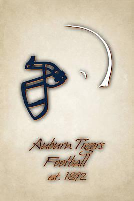 Auburn Photograph - Auburn Tigers Helmet 2 by Joe Hamilton