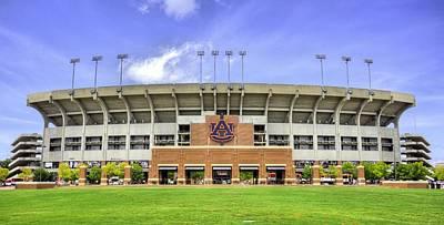 Auburn University Jordan Hare Stadium Print by JC Findley