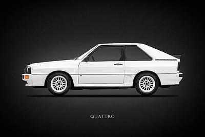 Audi Quattro 1985 Print by Mark Rogan