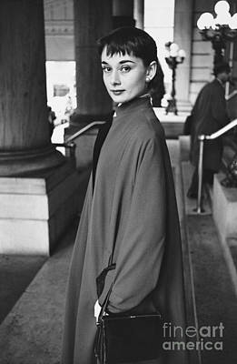 Photograph - Audrey Hepburn by Guy Gillette