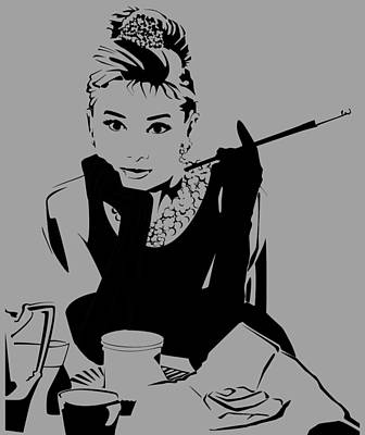 Audrey Hepburn Original by Ryan Burton