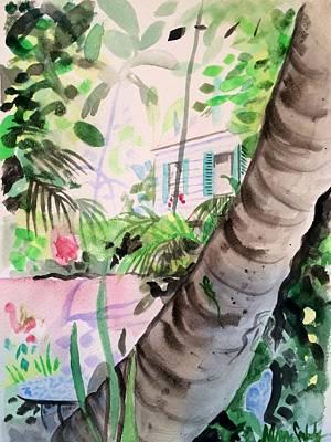 Audubon's Garden Key West  Print by Maggii Sarfaty