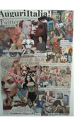 Auguri Italia Wishes Italy Original by Francesco Martin