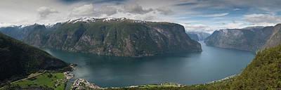 Aurlandsfjord Print by Nigel Jones