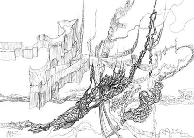 Joyful Drawing - Aurora by Charles Cater