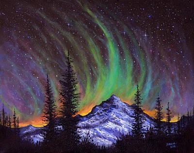 Aurora  Magic Print by C Steele