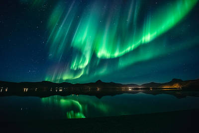 Aurora Surprise Print by Tor-Ivar Naess