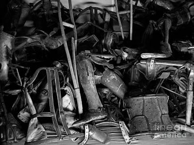 Auschwitz Photograph - Auschwitz-birkenau Crutches by RicardMN Photography