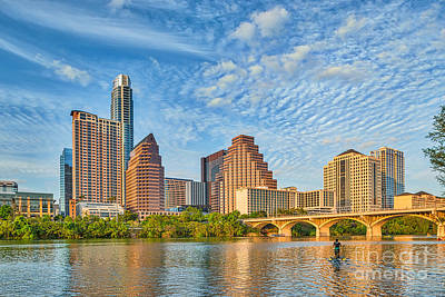 Austin Skyline Photograph - Austin City View by Tod and Cynthia Grubbs