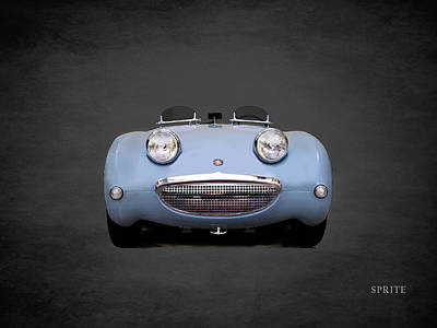 Austin Photograph - Austin Healey Sprite by Mark Rogan