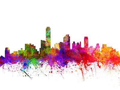 Australian Drawing - Australia Australia Cityscape 02 by Aged Pixel