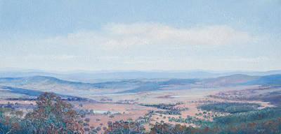 Australian Landscape - Mt Tamborine Original by Jan Matson