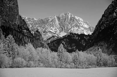 Snow-covered Landscape Photograph - Austrian Winter Wonderland by Mountain Dreams