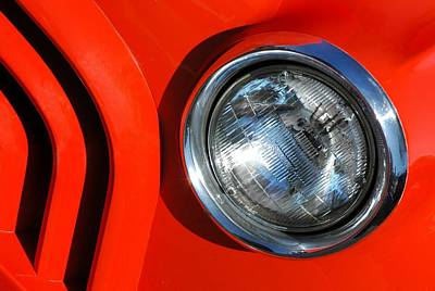 Red Abstract Photograph - Auto Abstract by Dan Holm