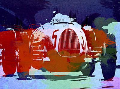 German Classic Cars Photograph - Autounion  by Naxart Studio