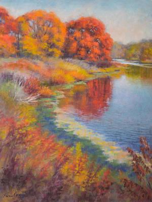 Autumn Afternoon 3 Original by Fiona Craig