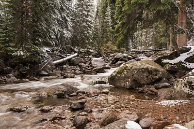 Gore Range Photograph - Autumn At Gore Creek - Vail Colorado by Brian Harig