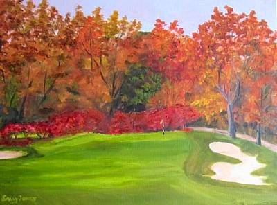Autumn At Oakmont Country Club Original by Sally Jones