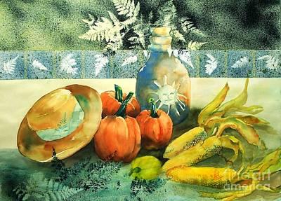 Maryann Painting - Autumn Bounty   by Maryann Schigur