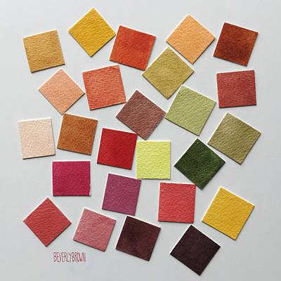Palette Photograph - Autumn Color Palette by Beverly Brown Prints