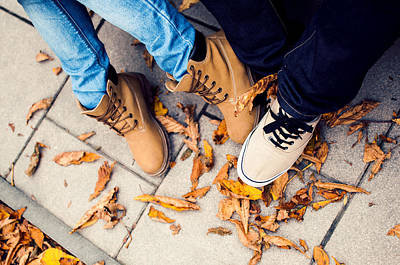Boyfriend Photograph - Autumn Date by Ondrej Supitar