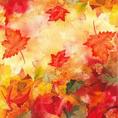 Autumn Flow Print by Irina Sztukowski