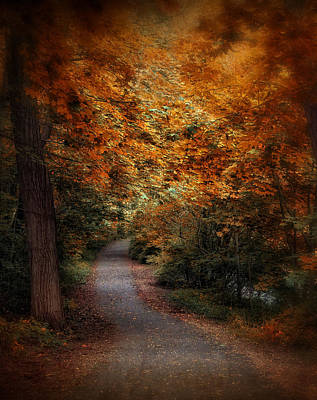 Autumn Follows Print by Jessica Jenney
