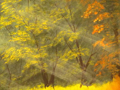 Autumn Gift Print by Arthur Morehead
