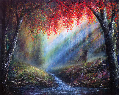 Bright Painting - Autumn Glory by Ann Marie Bone