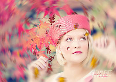 Windblown Digital Art - Autumn Grace II by Chris Armytage