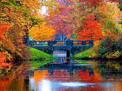 Landscape Photograph - Autumn In Boston by Marie Jamieson