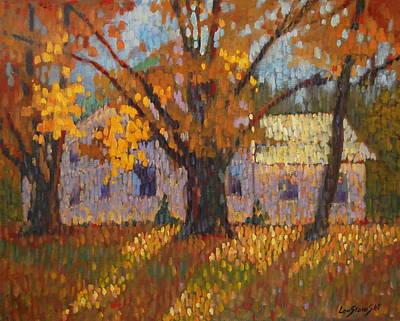 Autumn In New York Original by Len Stomski