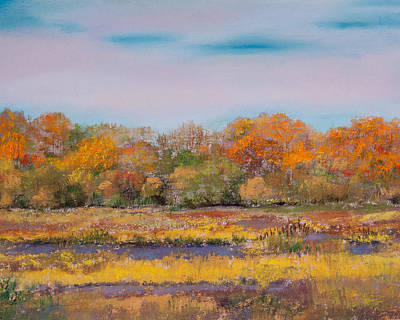 Autumn In The Adirondack Mountains Original by David Patterson